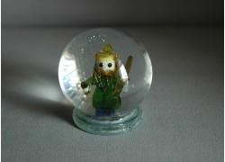 Snow globe figurine of Lord mountains www.sklenenevyrobky.cz