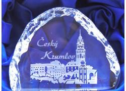 Plaketa Český Krumlov 10x7x2,5 cm