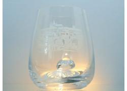 Půllitr ze skla na pivo Praha