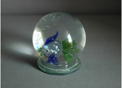 Sněhová koule 60mm rybka 1