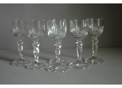 Mariana glass for liqueur, 6 pcs, bow decor www.sklenenevyrobky.cz