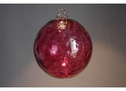 Závěsná koule z hutního skla 10cm 1.