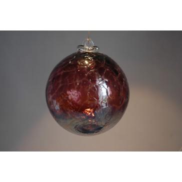 Závěsná koule z hutního skla 10cm 3.
