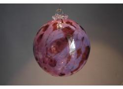 Závěsná koule z hutního skla 10cm 5.