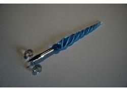 Písacie pero zo skla 12cm www.sklenenevyrobky.cz