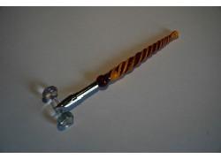 Písacie pero zo skla 12cm