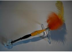 Glass writting pen www.sklenenevyrobky.cz