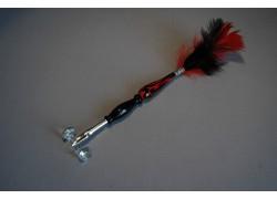 Skleněné psací pero velké 15-18cm bez stojánku VI.