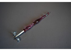 Skleněné psací pero velké 15-18cm bez stojánku VIII.
