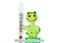 Frog with a thermometer