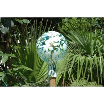 Plotová koule z hutního skla 12cm I.