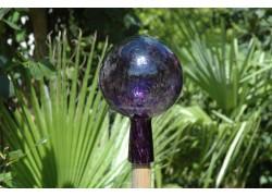 Plotová koule z hutního skla 12cm VI.