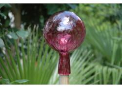 Plotová koule z hutního skla 12cm VIII.