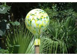 Fence ball 15cm www.sklenenevyrobky.cz