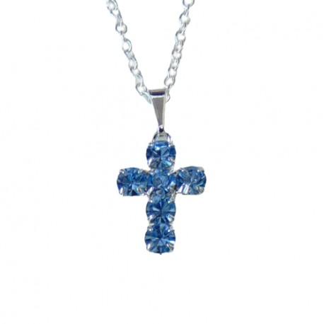 Cross on the neck www.sklenenevyrobky.cz