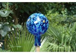Plotová koule z hutního skla 15cm V.