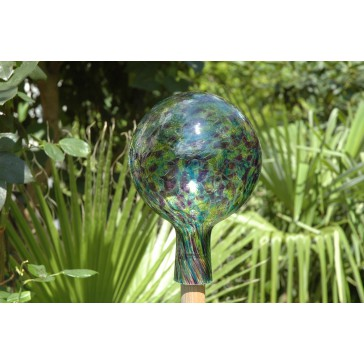 Plotová koule z hutního skla 15cm VI.