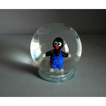 Sněžící koule 80mm krteček