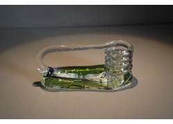 Svícen motaný z hutního skla II.