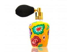 Perfume bottle with spray www.sklenenevyrobky.cz