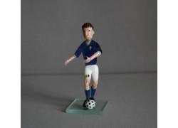 Skleněný fotbalista 11cm Itálie