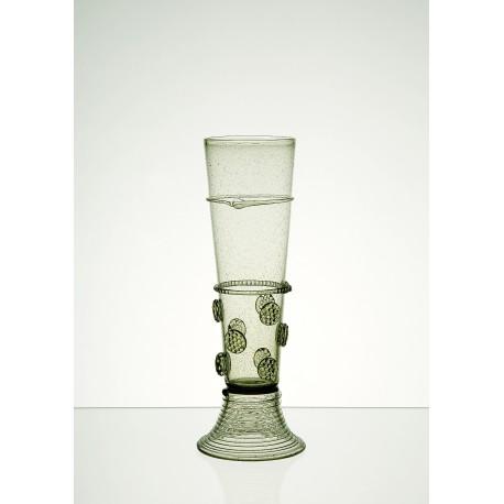 Pohár zelené lesní sklo C01 400 ml / 230mm www.sklenenevyrobky.cz