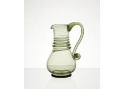 Pitcher C08 500ml / 170mm Forest green glass www.sklenenevyrobky.cz