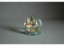 Sněžící koule 60mm Pražský Hrad keramika