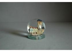 Sněžící koule 60mm Staroměstská radnice keramika