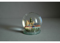 Sněžící koule 80mm Pražský Hrad