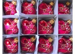 Christmas Heart small set 12pcs