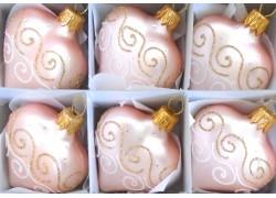 Christmas ornaments Heart small 6x