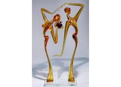 Adam a Eva L2 32 cm www.sklenenevyrobky.cz