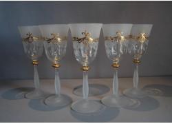 Wine glass, 6 pcs, for a festive toast www.sklenenevyrobky.cz