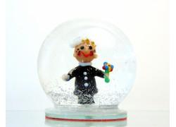 Sněžící koule kominík