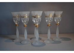 Aperitif glasses, 6pcs, for a festive toast www.sklenenevyrobky.cz