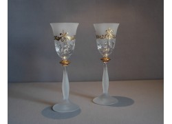 Aperitif glasses, 2 pieces, for a festive toast www.sklenenevyrobky.cz