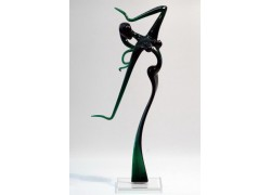 Dancer woman L1 31 cm www.sklenenevyrobky.cz