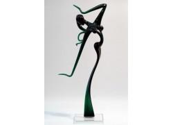 Dancer woman XXL1 38 cm www.sklenenevyrobky.cz