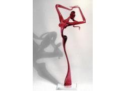 Dancer woman L2 31 cm www.sklenenevyrobky.cz