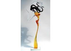 Aphrodite XXL1 40 cm www.sklenenevyrobky.cz