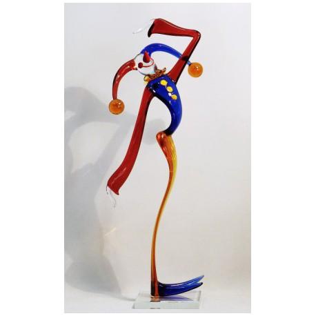 Clown XXL15 40 cm www.sklenenevyrobky.cz