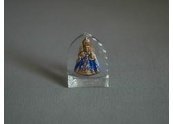 Pražské Jezulátko malé modré 3x4 cm