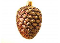 Christmas ornament, pine cones www.sklenenevyrobky.cz