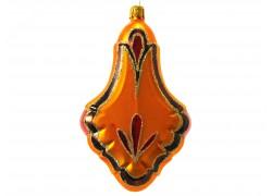 Christmas ornament, Pendulum www.sklenenevyrobky.cz