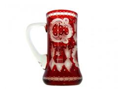 Beer mug, engraving Egermann www.sklenenevyrobky.cz