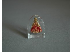 Pražské Jezulátko malé červené 3x4 cm