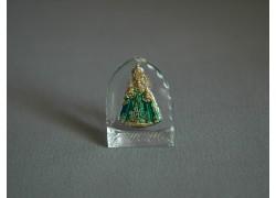 Pražské Jezulátko malé zelené 3x4 cm
