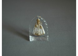 Pražské Jezulátko malé bílé 3x4 cm
