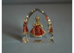 Pražské Jezulátko velké červené 5,5x6 cm